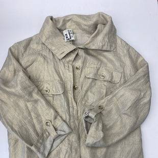 Primary Photo - BRAND: CHICOS STYLE: JACKET OUTDOOR COLOR: LINEN SIZE: M SKU: 200-200199-19390