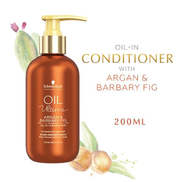Schwarzkopf Professional Oil Ultime Argan&Barbary Fig Oil-In Conditioner 200 ml