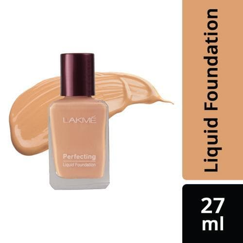 Lakme Foundation - Lakme Perfecting Liquid Foundation, Coral, 27 ml