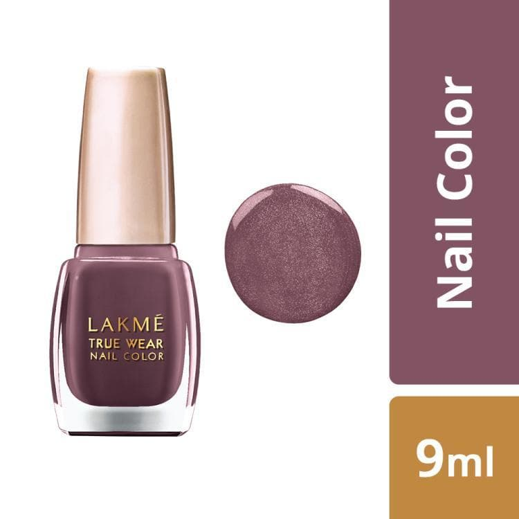 Lakme True Wear Nail Color, Shade 202, 9 ml