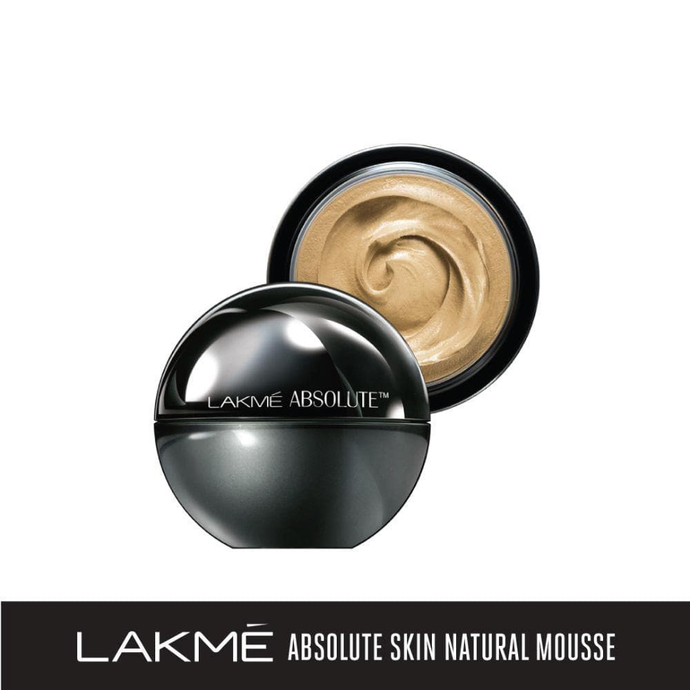 Lakme Absolute Skin Natural Mousse, Ivory Fair 01, 25 g - Lakme Salon