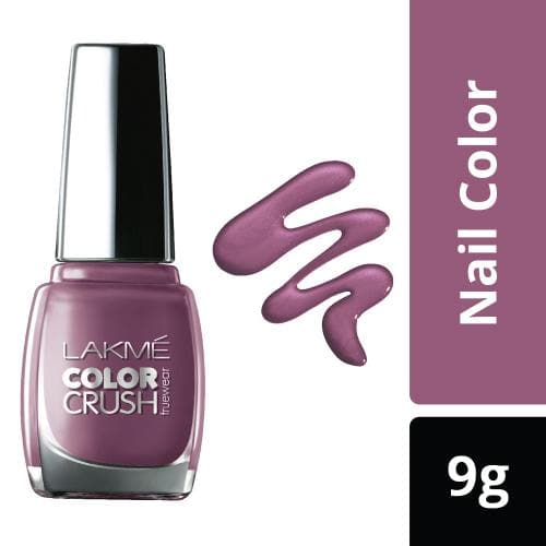 Lakme True Wear Color Crush Nail Color, Shade 40, 9 ml