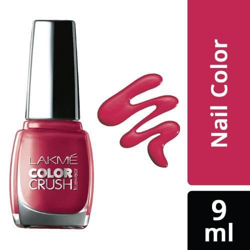 Lakme True Wear Color Crush Nail Color, Shade 43, 9 Ml - Lakme Salon