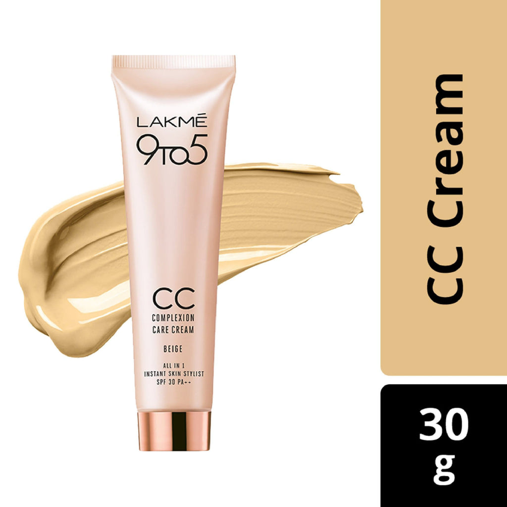 Lakme 9 To 5 Complexion Care Face Cream, Beige, Lakme Salon