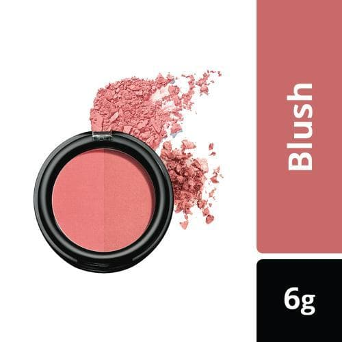Lakme Absolute Face Stylist Blush Duos, Coral Blush, 6 g