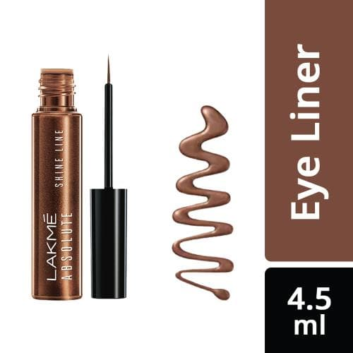 Lakme Absolute Shine Line Eye Liner, Shimmer Bronze, 4.5 ml - Lakme Salon
