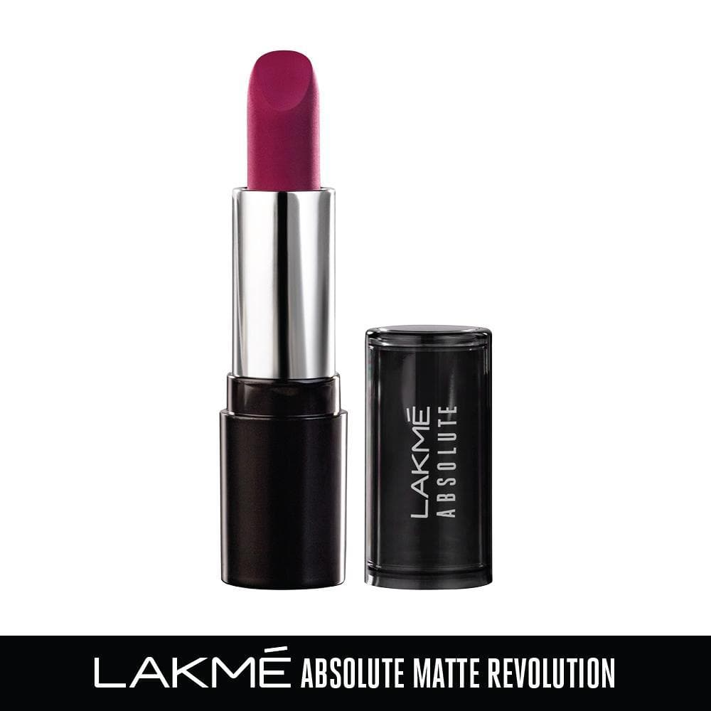 Lakme Absolute Matte Revolution Lip Color, 205 Mauve Me, 3.5 g