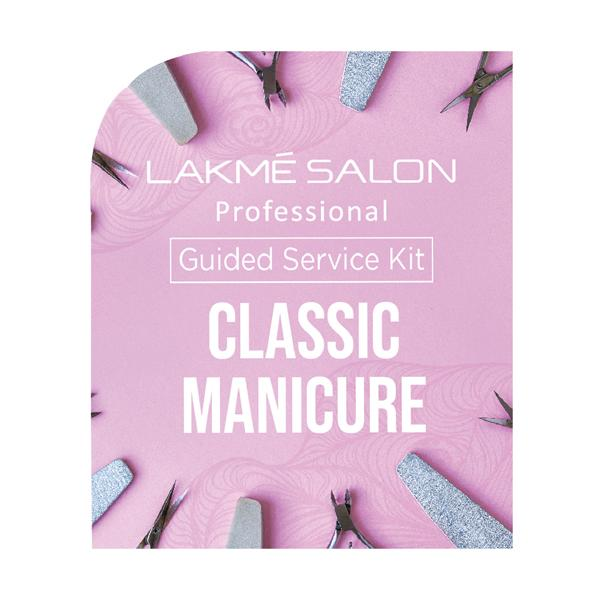 Lakme Salon Professional - Guided Service Kit - Classic Manicure