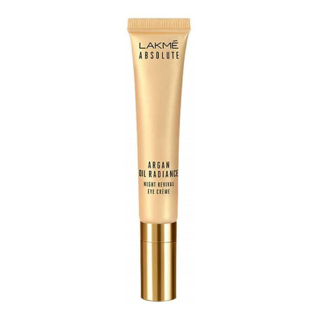 Lakme Absolute Argan Oil Radiance Night Revival Eye Cream