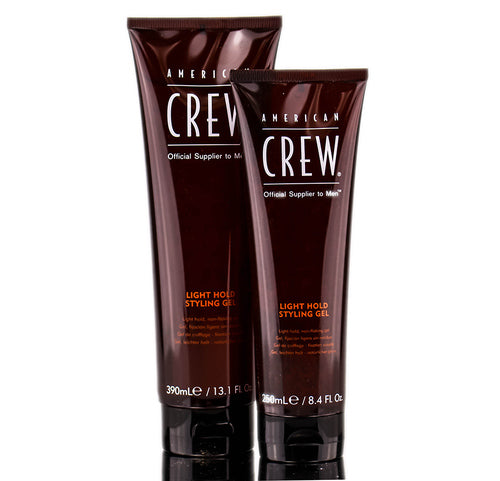 CREW LIGHT HOLD STYLING GEL TUBE 250 ml