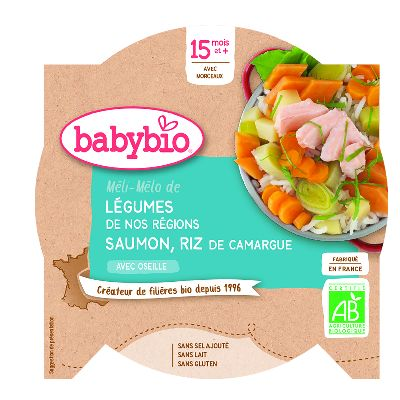 ASS. LEGUMES SAUMON 260G