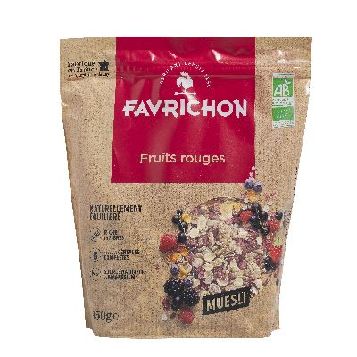 MUESLI FRUITS ROUGES 450G