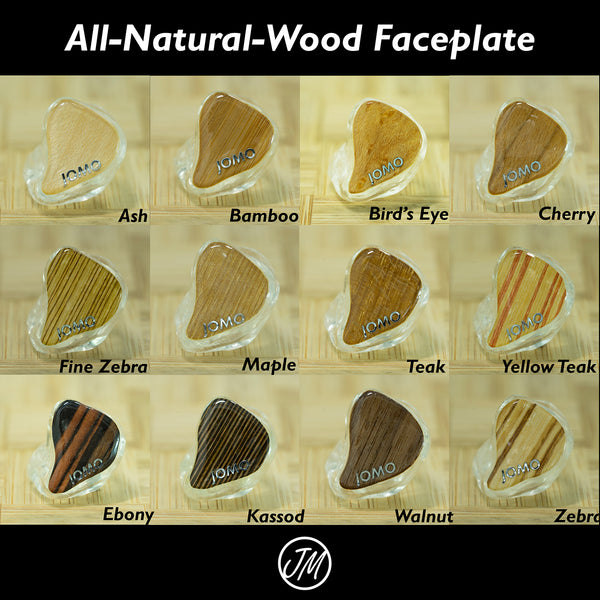 wood faceplate