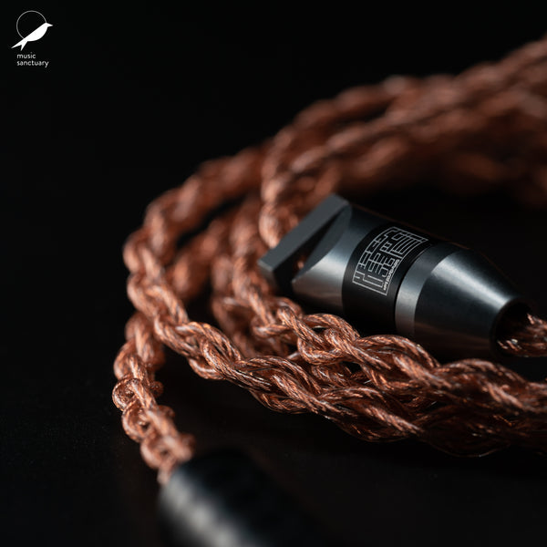 Han Sound Audio ZENTOO 4-wire OCC Copper Litz cable