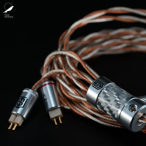 Satin Audio Theia Hybrid OCC Copper and SPC Litz Cable