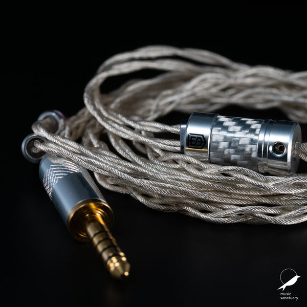 Satin Audio Athena OCC Palladium Plated Silver Litz Cable