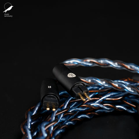 Cross Lambda Audio Lunar OCC Copper and SPC Hybrid Cable