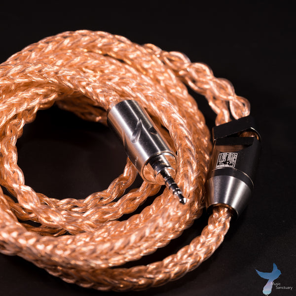 Han Sound Audio ZEN 8-wire OCC litz copper cable