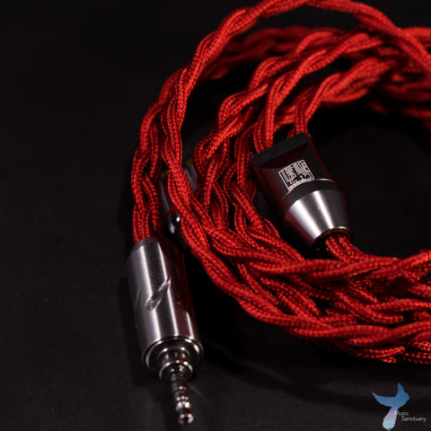 Han Sound Audio Redcore OCC silver + OCC copper cable