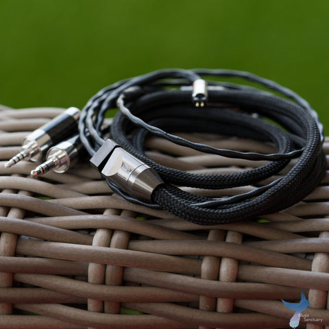 Han Sound Audio VENOM shielded gold-silver alloy cable