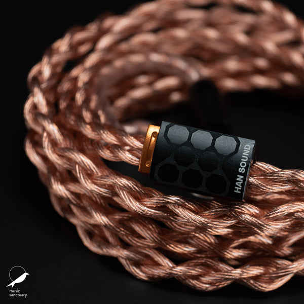 Han Sound Audio ZENTOO PLUS 4-wire OCC Copper Litz cable