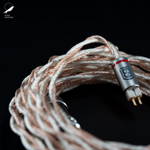 Satin Audio Kraken II Hybrid OCC Copper, SPC and Silver Litz Cable