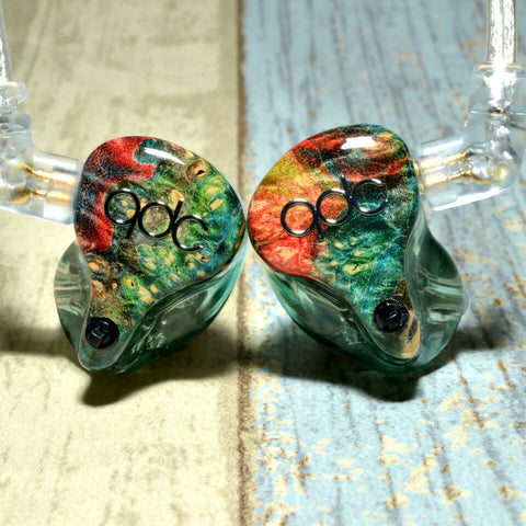 qdc Gemini custom in-ear monitor