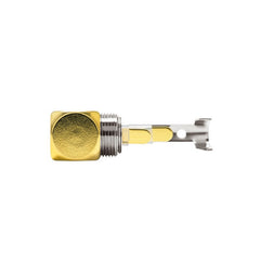 Oyaide P-3.5GL 3.5mm 3-pole TRS jack [RIGHT ANGLE]