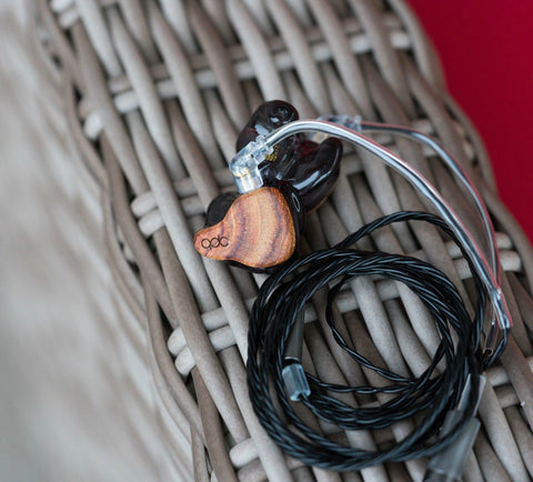 qdc Anole V6 custom in-ear monitor