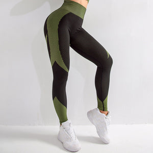 High-Rise Seamless Fitness Leggings