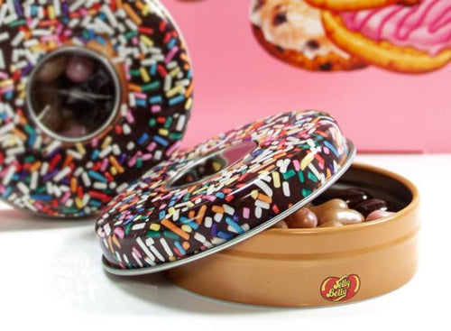 Jelly Belly Donut Shoppe Mix flavour  28g Tin - Old Town Sweet Shop