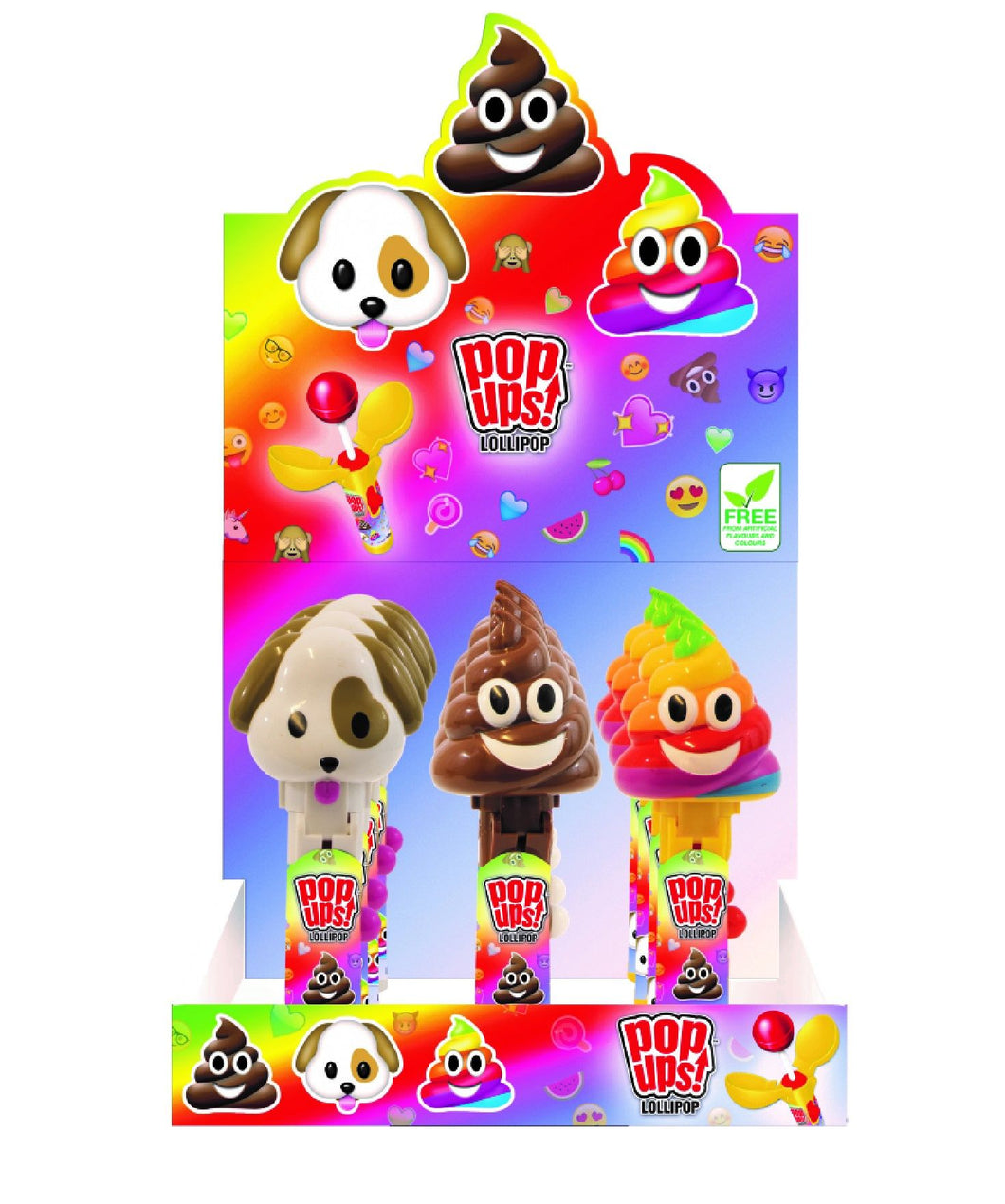 Moji Pop Up Lollipops - Old Town Sweet Shop
