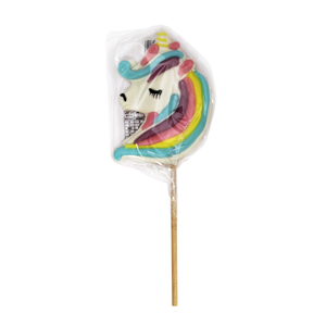Rock Unicorn Shaped Lollipop 100g - Old Town Sweet Shop