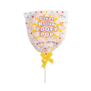 Giant Mallow Poofy Pop 75g - Old Town Sweet Shop