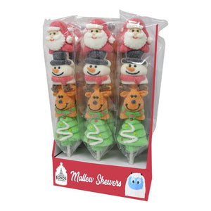 Christmas Mallow Pop Skewers 45g - Old Town Sweet Shop