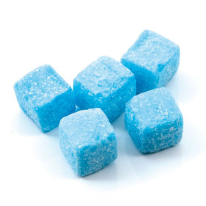 Blue Raspberry Cubes - Old Town Sweet Shop