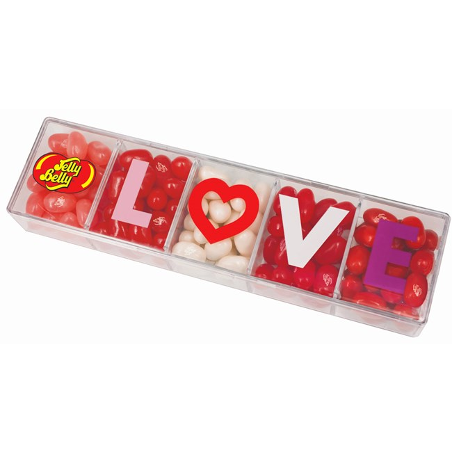 Jelly Belly 5 Flavour Love Box - Old Town Sweet Shop