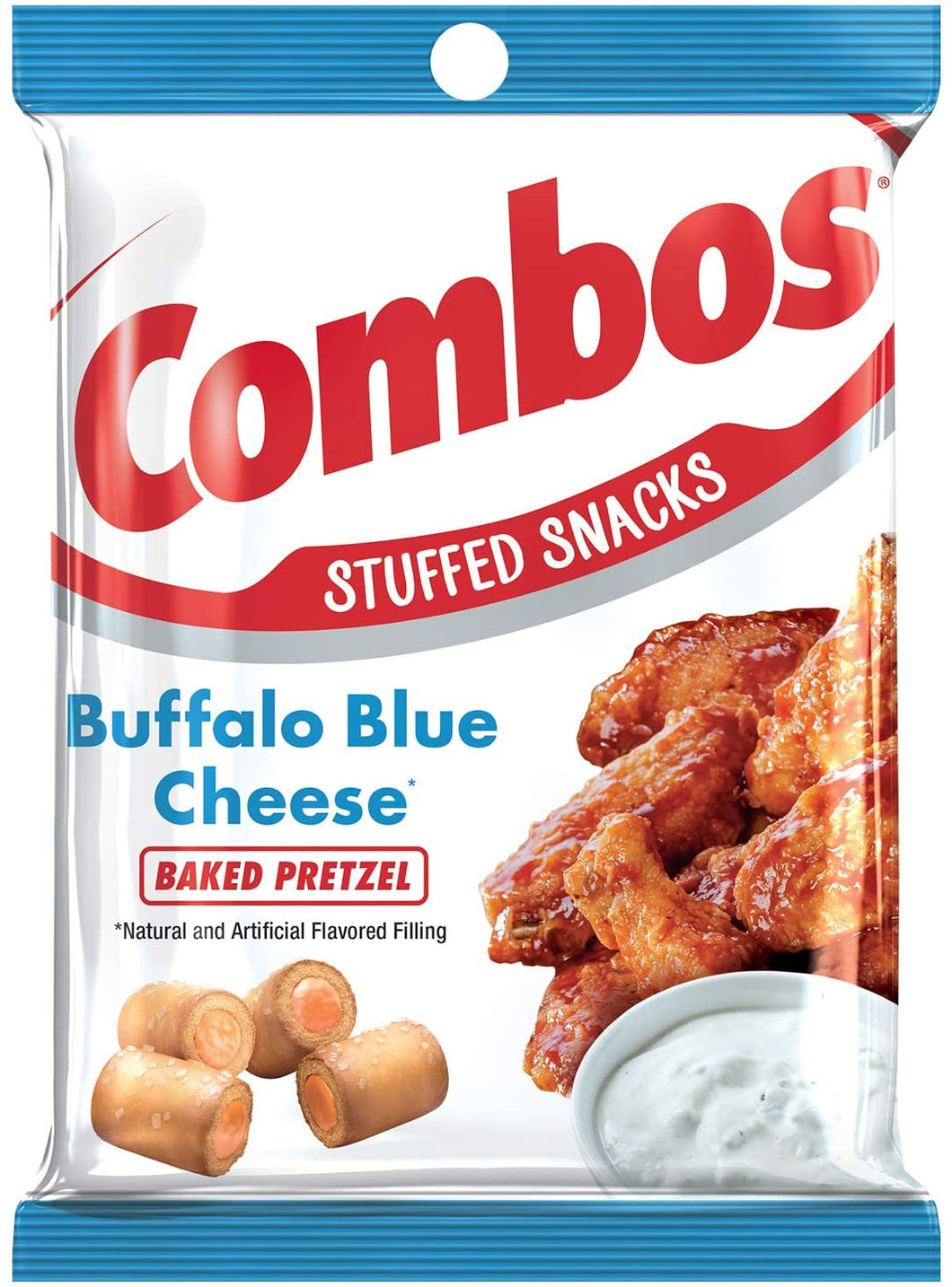Combos Buffalo Blue Cheese 6.3oz - Old Town Sweet Shop