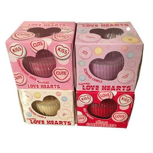 Swizzels Love Hearts Scented Candle - Old Town Sweet Shop