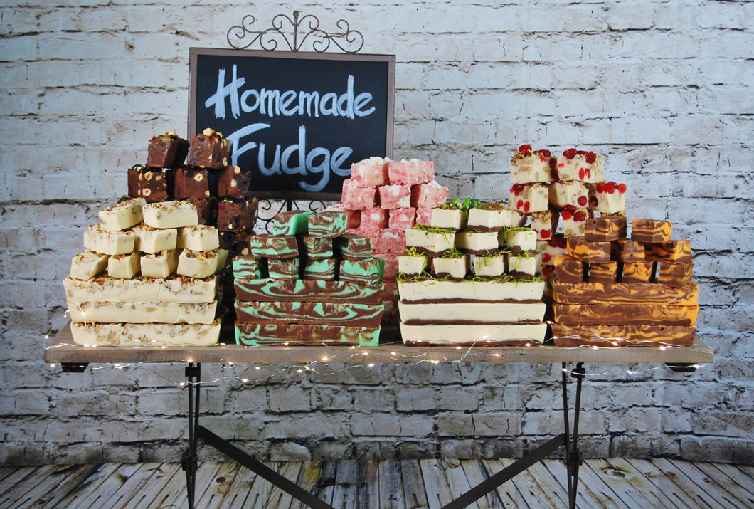 Handmade Fudge- £3 each bar or 4 for £10 - Old Town Sweet Shop