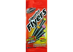 Liquorice Flyers 75g - Old Town Sweet Shop