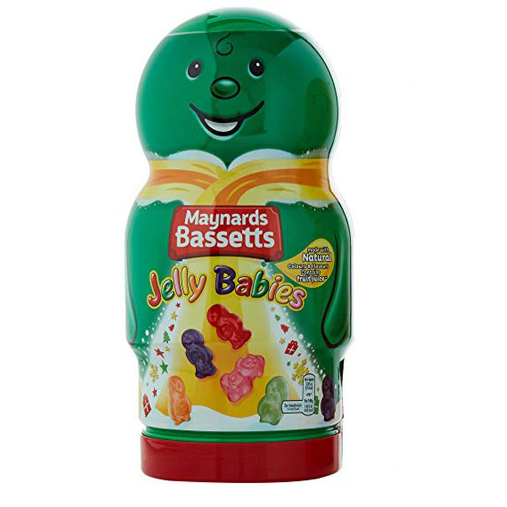 Giant Green Jelly Babies Jar 495g - Old Town Sweet Shop