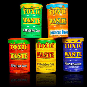 Toxic Waste Drum 48g - Old Town Sweet Shop