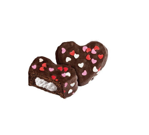 Hostess Heart Shaped Ding Dongs Singles - Old Town Sweet Shop