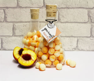Hard Boiled Sweets Flask Peach Bellini 350g - Old Town Sweet Shop