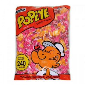Alberts Popeye Fruit Chews 240count - Old Town Sweet Shop