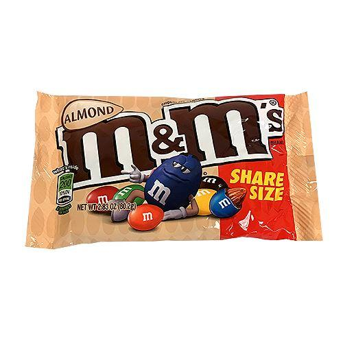 Almond m&m's Share Size 2.83oz - Old Town Sweet Shop