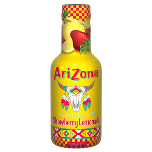 AriZona Cowboy Cocktail Strawberry Lemonade - 500ml - Old Town Sweet Shop