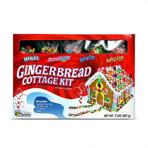 Bee Nestle Gingerbread Xmas Cottage 2lb (907g) - Old Town Sweet Shop