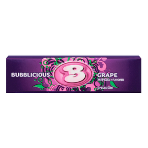 Bubblicious Grape Bubble Gum 1.4oz (40g) - Old Town Sweet Shop
